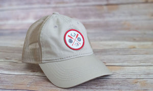 Broken Arrow Circle Patch Trucker (3 Colors Available)