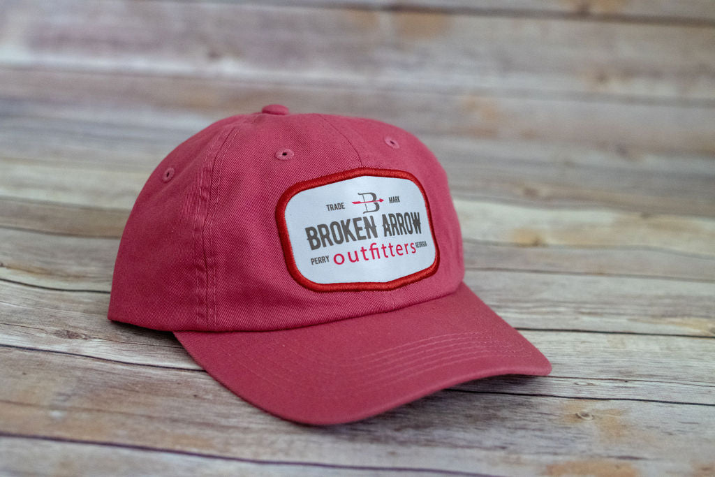 Broken Arrow Cotton Twill Patch Hat (2 Colors Available)