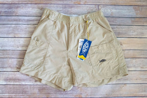 Aftco Original Fishing Short Khaki