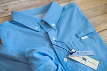 Load image into Gallery viewer, Onward Reserve Performance Fishing Shirt Solid Blue