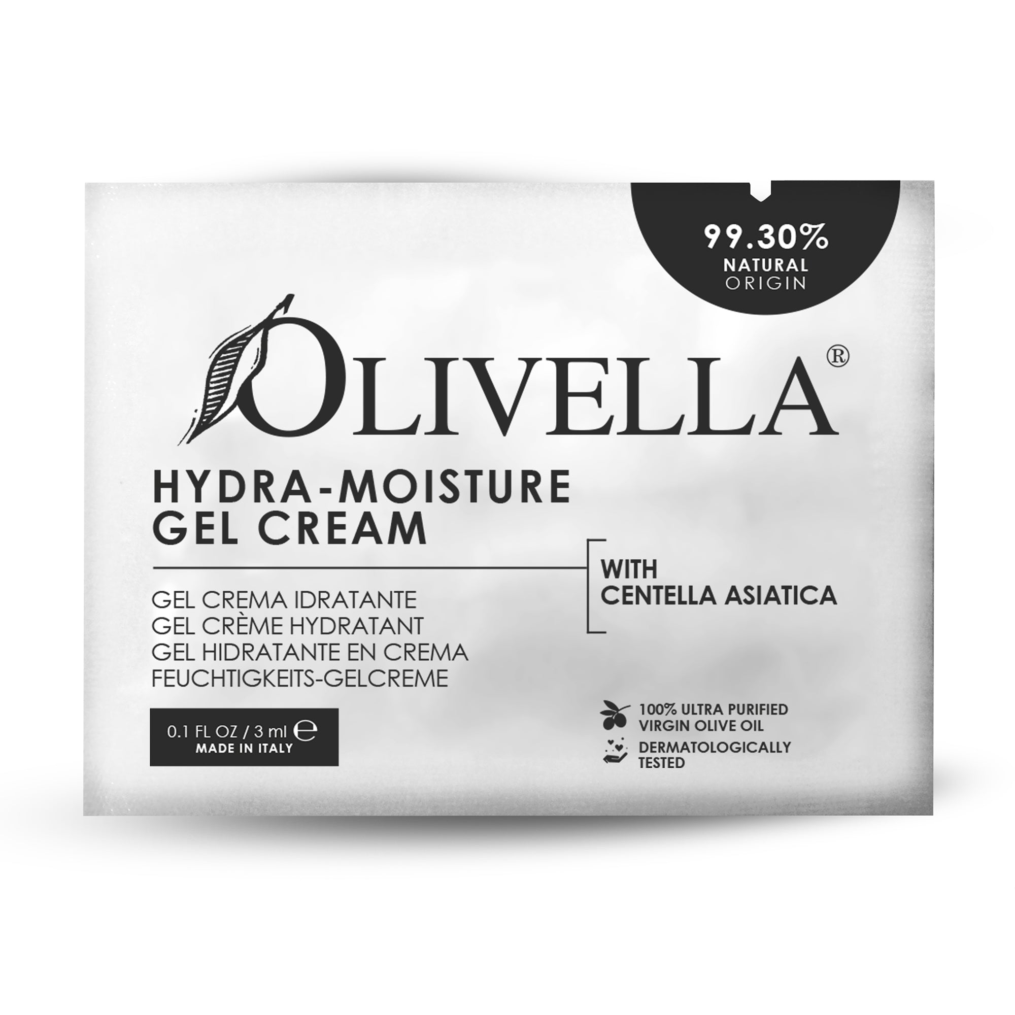 Olivella Hydra-Moisture Gel Cream Sample