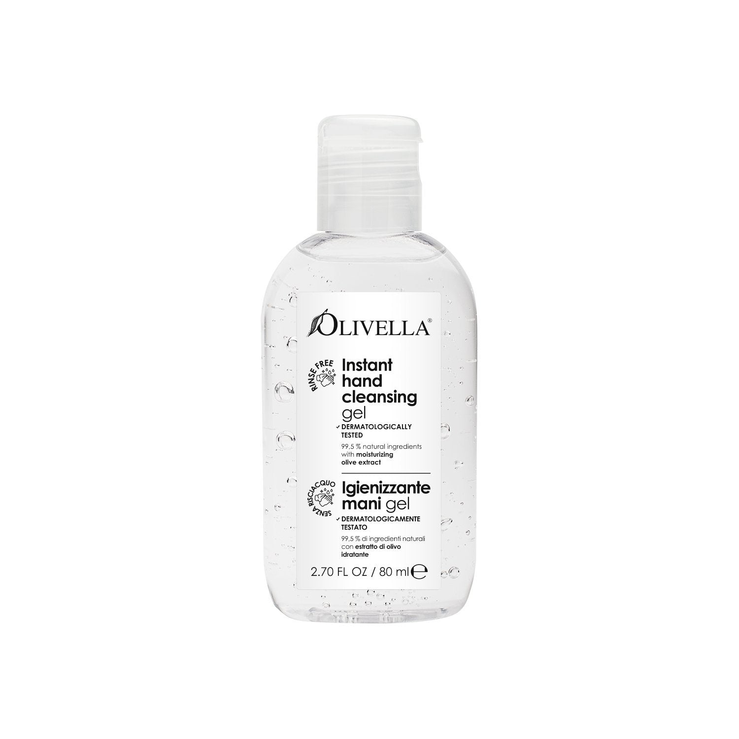 Olivella Instant Hand Cleansing Gel 2.70 Oz