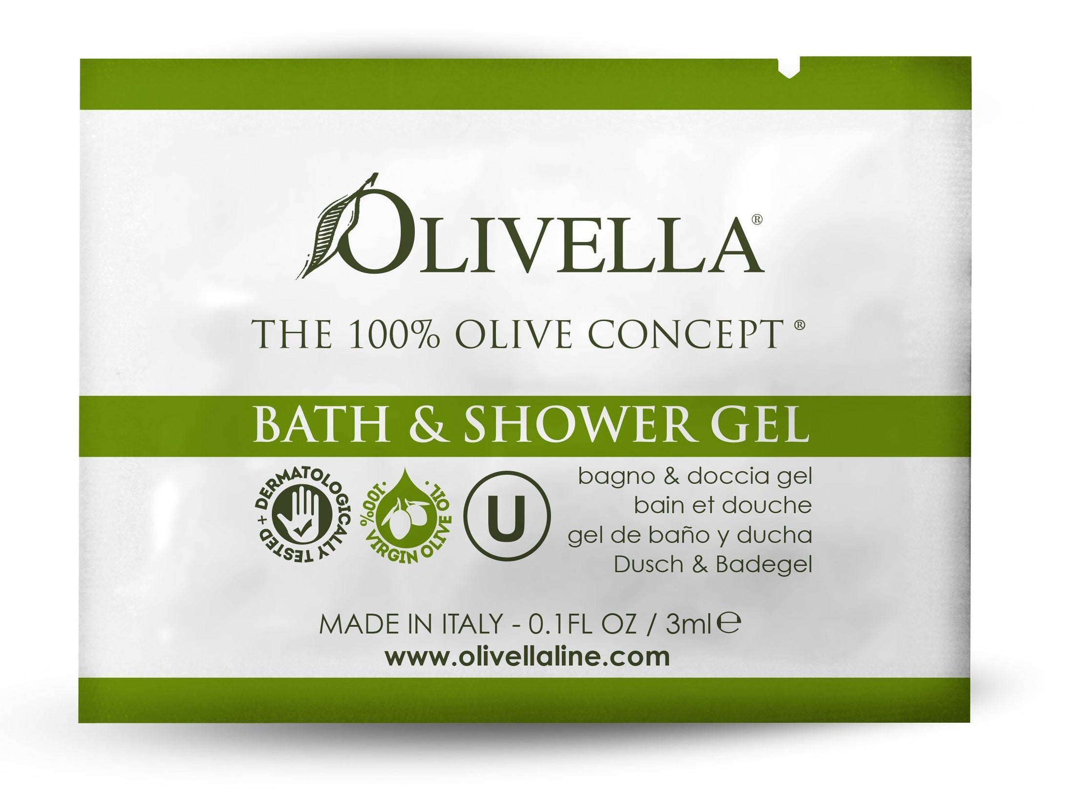 Olivella Bath & Shower Sample - Olivella Official Store