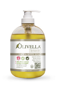 Olivella Liquid Soap Raw Fragrance Free - Olivella Official Store
