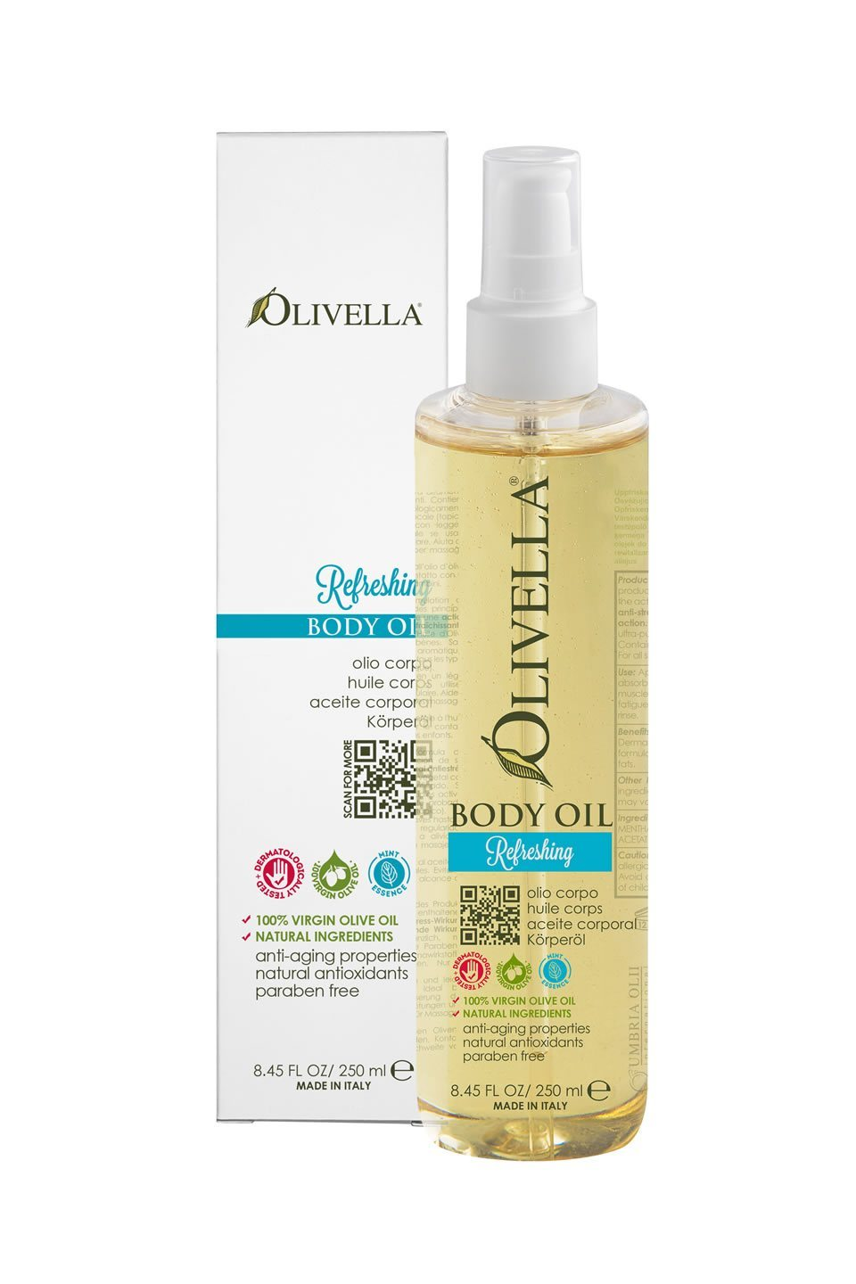 Olivella Body Oil - Refreshing - Olivella Official Store
