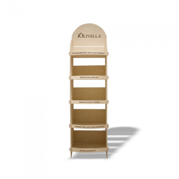 Olivella Empty Wood Display (Assembly Required)