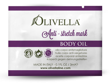 Anti-Stretch Mark Body Oil Sample - Olivella Official Store