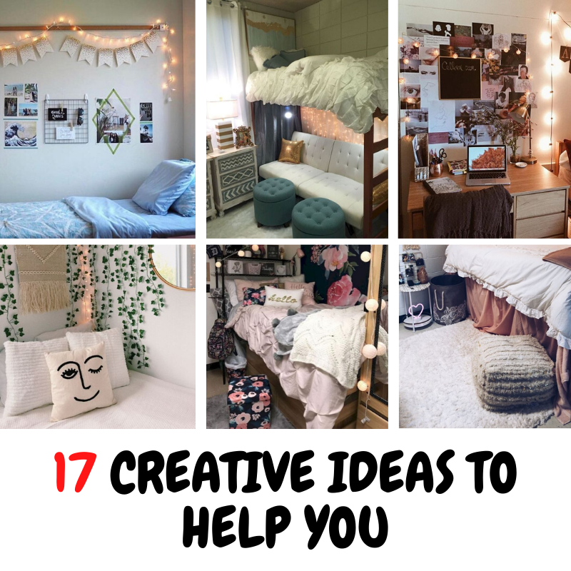17 creative ideas to help you make your room stylish and comfortable
