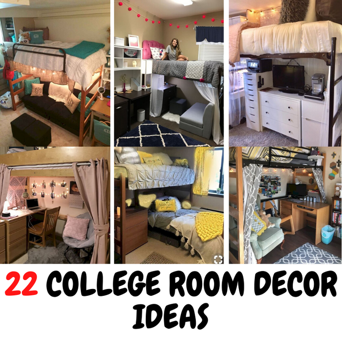 22 College Room Decor Ideas