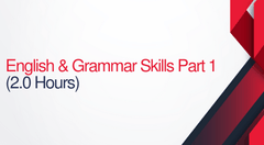 English and Grammar Skills For Court Reporters Part 1 - 2 hours (.2 CEUs)