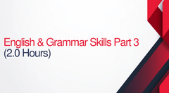English and Grammar Skills For Court Reporters Parts 3 - 2 hours (.2 CEUs)