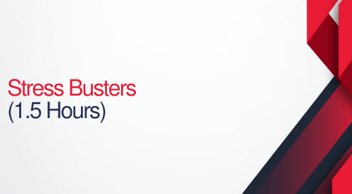 Stress Busters - 1.5 hours (.15 CEUs)
