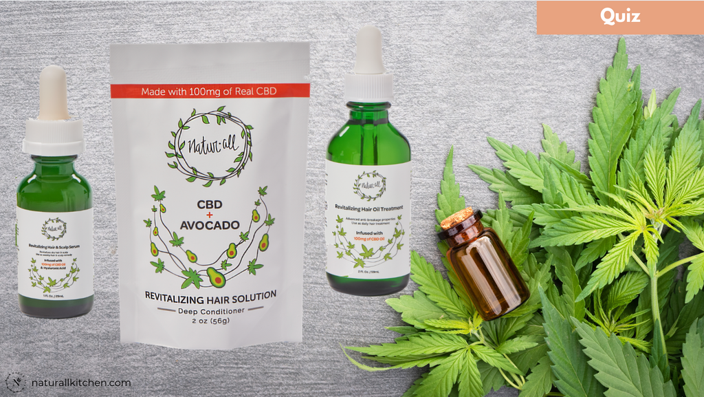 QUIZ: Which Revitalizing CBD Product is Best For You?