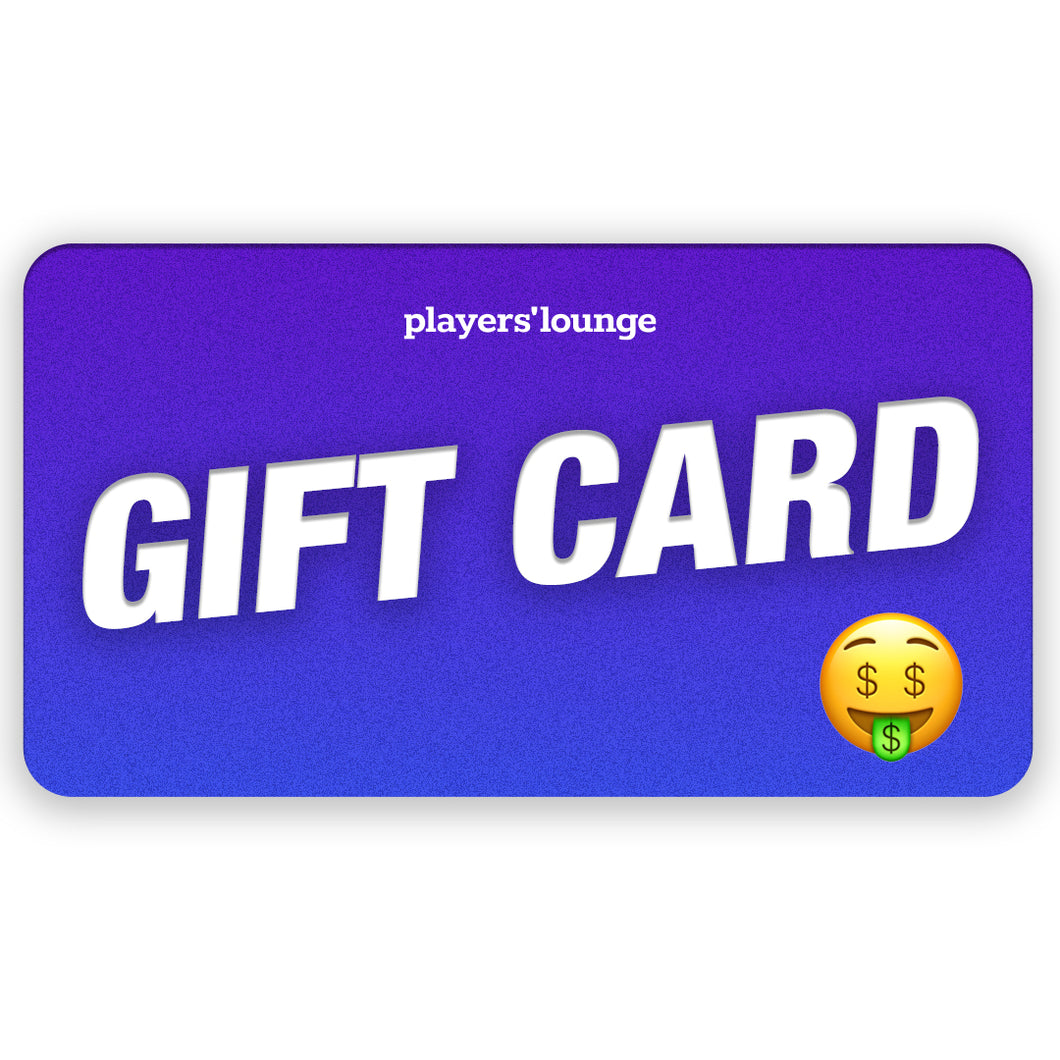 Players' Lounge Apparel Gift Cards