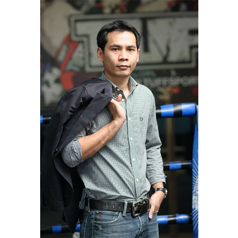 TUFF's Founder. Mr. Wootinun Sungong