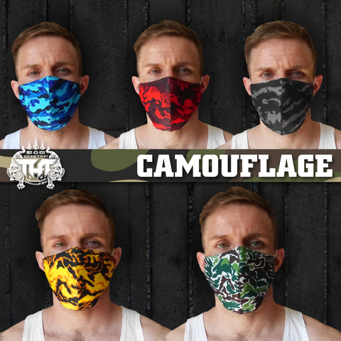 5 PCS TUFF Fabric Mask Collection Set 1