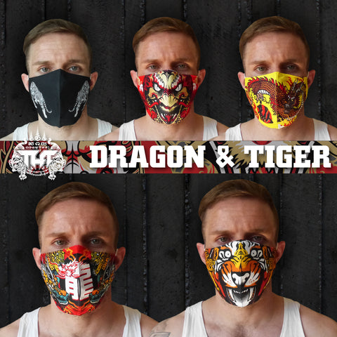 5 PCS TUFF Fabric Mask Collection Set 4