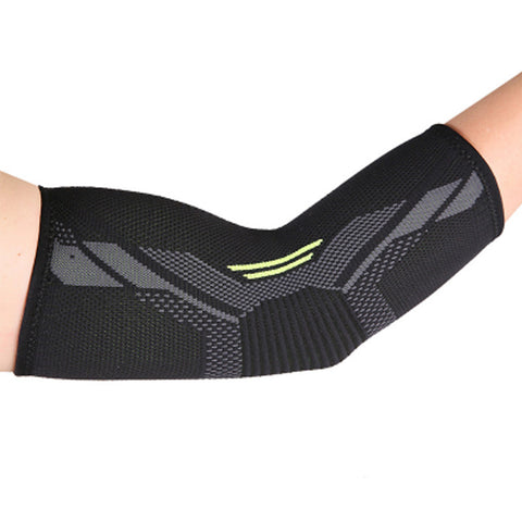 TUFF Nylon Knitted Elbow Pads Guards Arm Brace Support Gym Training Compression Sleeve