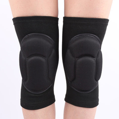 TUFF Protection Sponge Knee Pads Guards Training Thick Sponge Anti-Slip Collision Avoidance Knee Sleeve Protector
