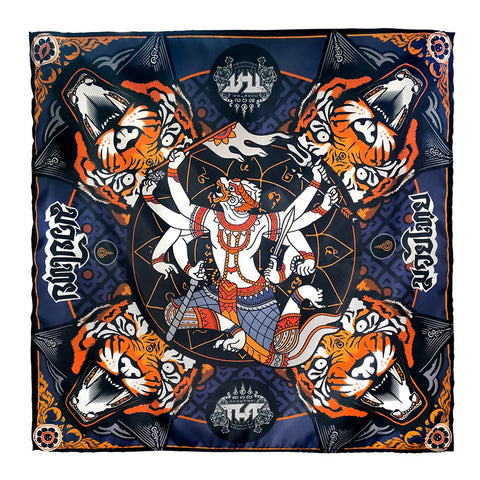 TUFF Bandana Headband Hanuman with Tiger Yantra
