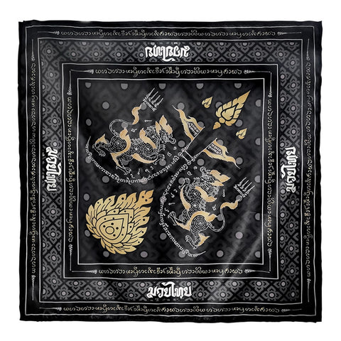 TUFF Bandana Headband Singha with War Flag Yantra
