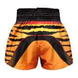 TUFF Muay Thai Boxing Shorts Orange Cruel Tiger