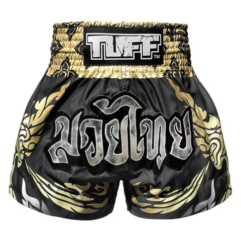 TUFF Muay Thai Boxing Shorts THAI Mythical Creature KING OF NAGA