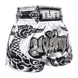 TUFF Muay Thai Boxing Shorts The Great Hongsa White