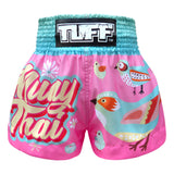 TUFF Muay Thai Shorts Bird Collection Pattern