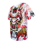 TUFF Muay Thai Shirt King of Dragon in White