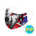 TUFF Fabric Mask Wolf ( KID )