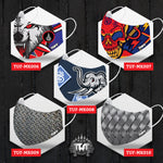 5 PCS TUFF Fabric Mask Collection Set 2