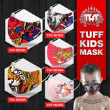 5 PCS TUFF Fabric Mask Collection Set Kids
