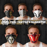 5 PCS TUFF Fabric Mask Collection Set 3