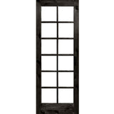 Krosswood Knotty Alder 12 Lite With LowE Insulated Glass | UberDoors