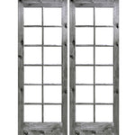 Krosswood Knotty Alder 12 Lite With Low-E IG Exterior French Doors | UberDoors