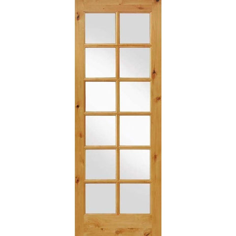 Knotty Alder 12 Lite With LowE Insulated Glass