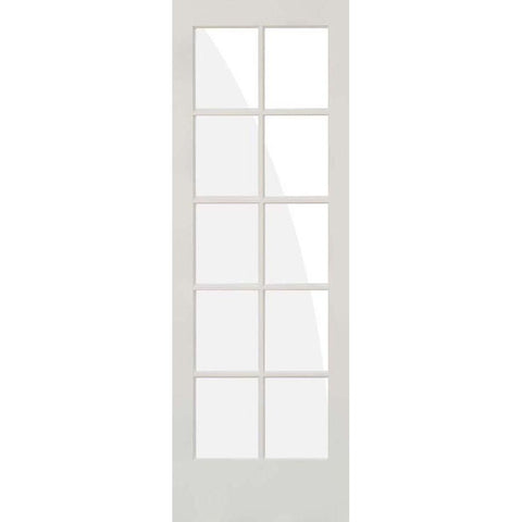 Krosswood Primed MDF 10 Lite TDL Door | UberDoors