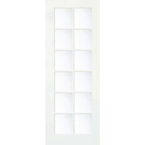 Krosswood Primed MDF 12 Lite TDL Door | UberDoors