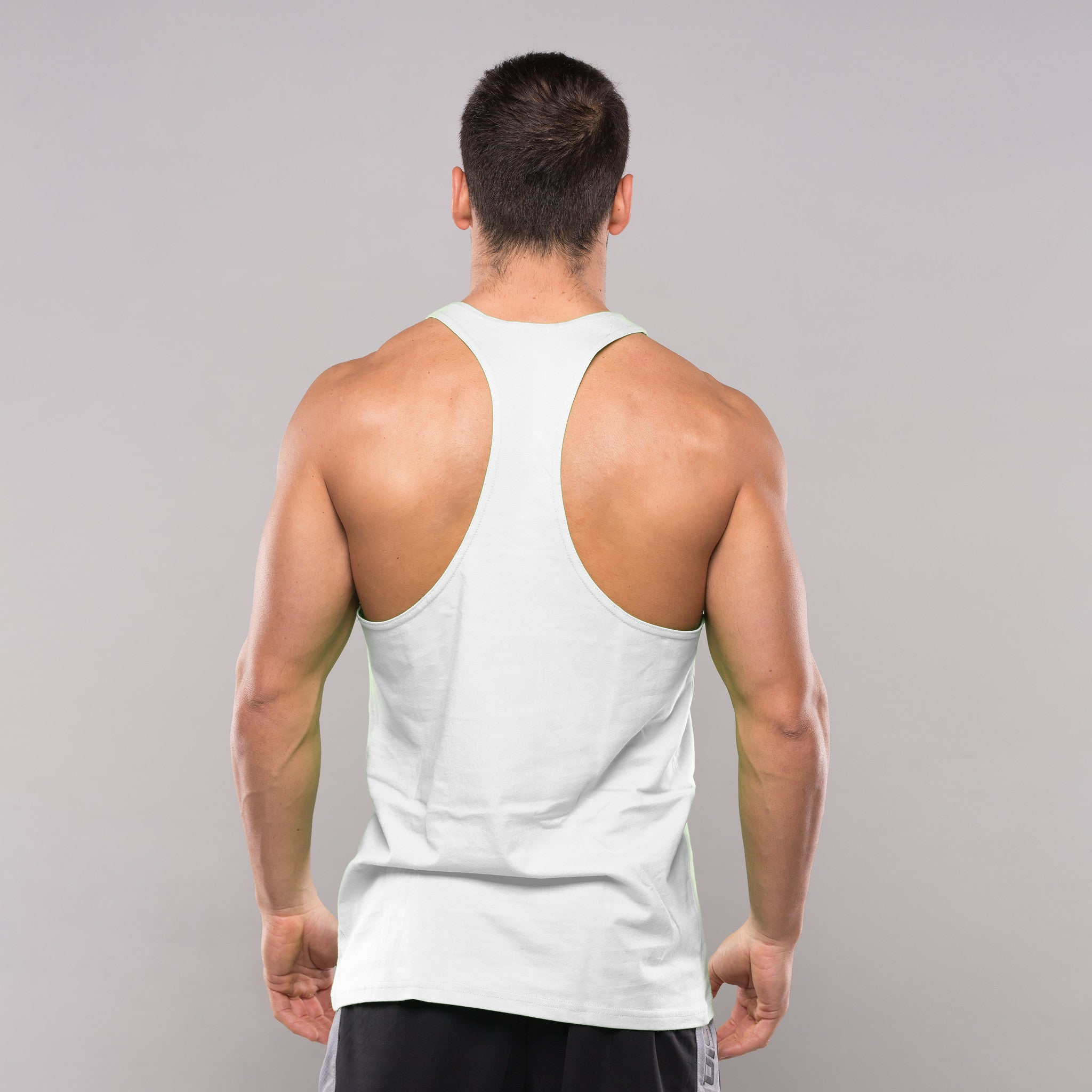 stringer black single men Our new range of stringers feature dropped arm holes that allows you to maximise your range of motion, as well as a barely-there feel fabric, which helps you to stay cool.