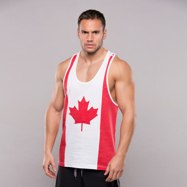 Topphysiques Canada Flag Tank