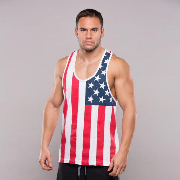 Topphysiques USA Flag Tank