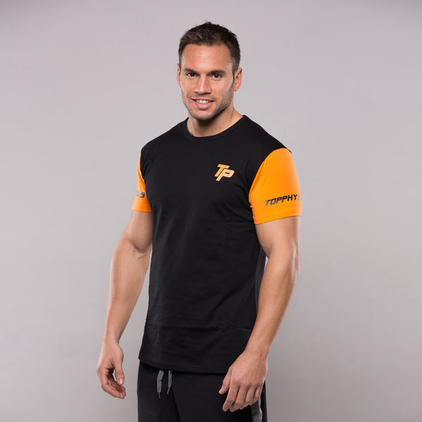 TP Slim Sleeves T-shirt ORANGE