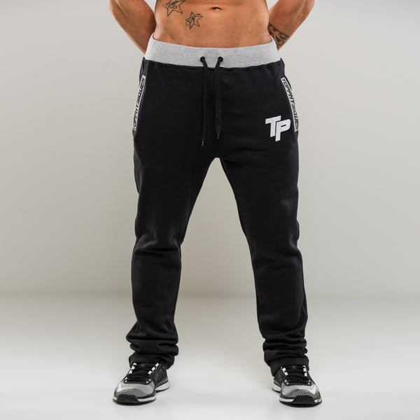 Black & Grey TP Tapered Pants