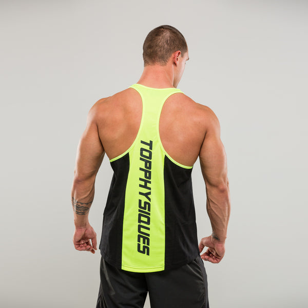 BP-X Stringer Vest - Fluor Lime Panel