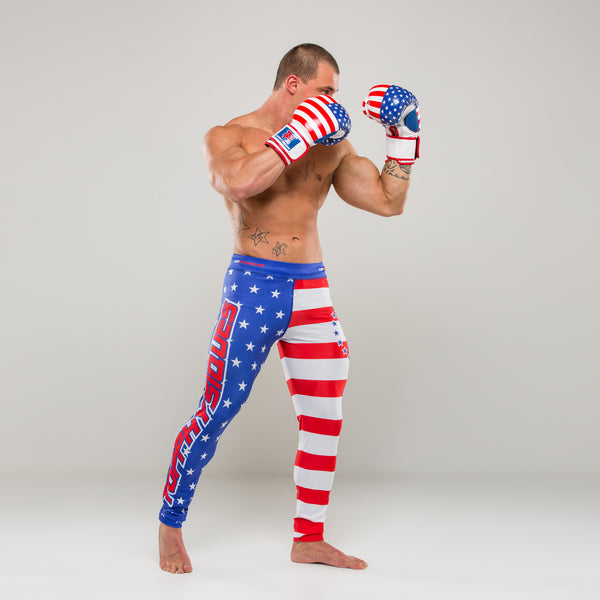 USA Fight Compression Pants