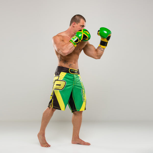 Team Jamaica MMA Shorts