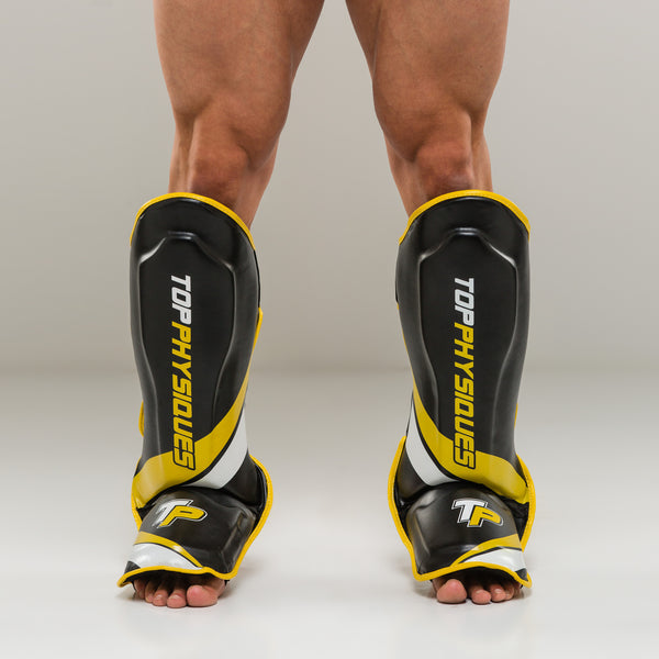 Team TP Muay Thai Thick Shin Guards