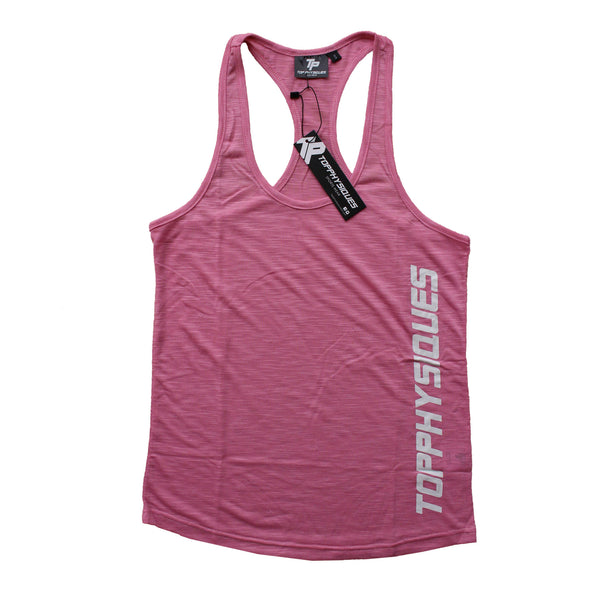 Topphysiques Womens Tank Top - Baby Pink