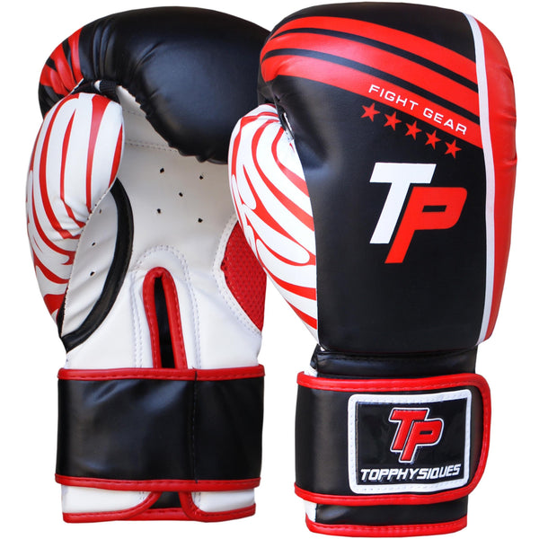 Black & Red Boxing Gloves